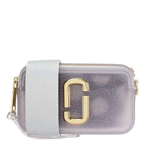 Jelly Glitter Snapshot Camera Bag, ${color}