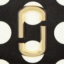 Polka Dot Snapshot Continental Zip Around, ${color}