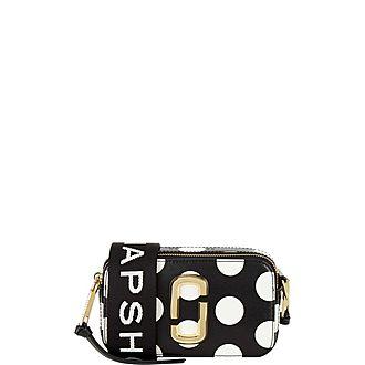 Polka Dot Snapshot Camera Bag