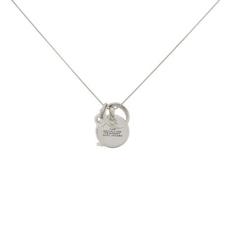 Medallion Pendant Necklace, ${color}