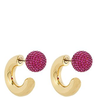 Bubbly Small Hoop Earrings