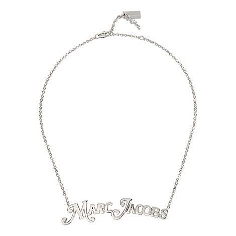 MJ Logo Necklace, ${color}