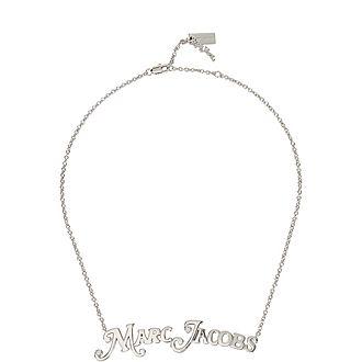 MJ Logo Necklace