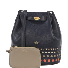 Abbey Perforated Bucket Bag