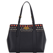 Bayswater Perforated Leather Tote Bag
