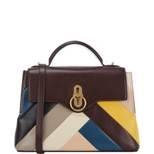 Seaton Chevron Leather Small