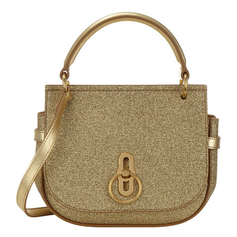 Amberley Small Glitter Satchel, ${color}