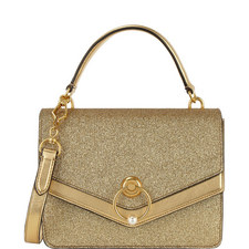 Harlow Glitter Satchel Bag
