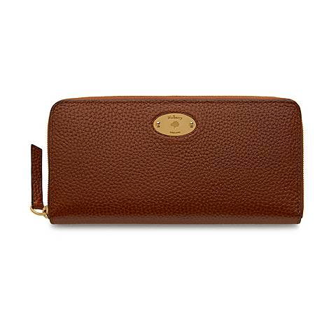 Plaque Zip Wallet, ${color}