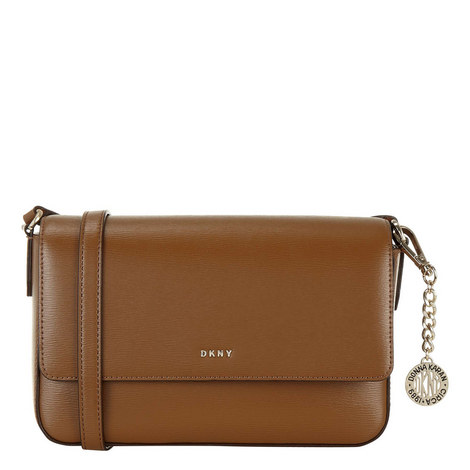 Sutton Medium Flap Crossbody Bag, ${color}