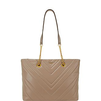 Vivenne Quilted Medium Tote