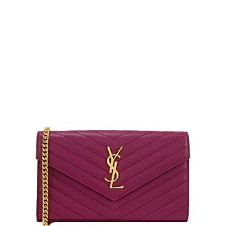 Monogram Chain Clutch
