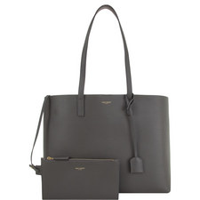 East West Leather Shopper