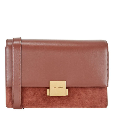 Bellechasse Suede Crossbody Bag, ${color}