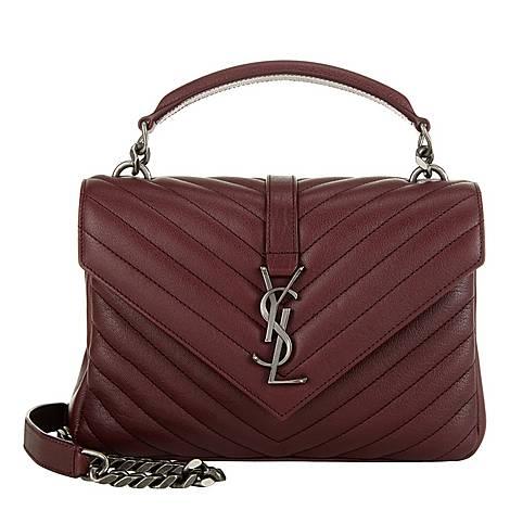 College Medium Shoulder Bag, ${color}