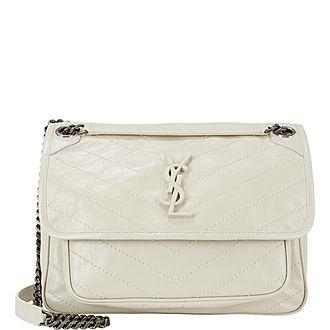 Niki Chain Medium Shoulder Bag