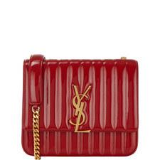 Monogram Vicky Patent Leather Bag