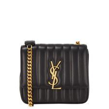 Monogram Vicky Leather Bag