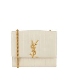Vicky Leather Crossbody Bag