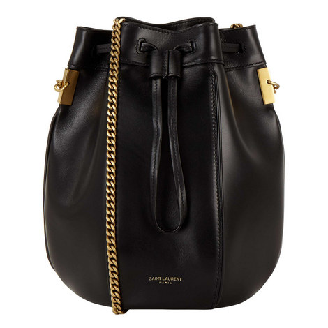 SAINT LAURENT Talitha Small Chain Bucket Bag e68ee073cfad9