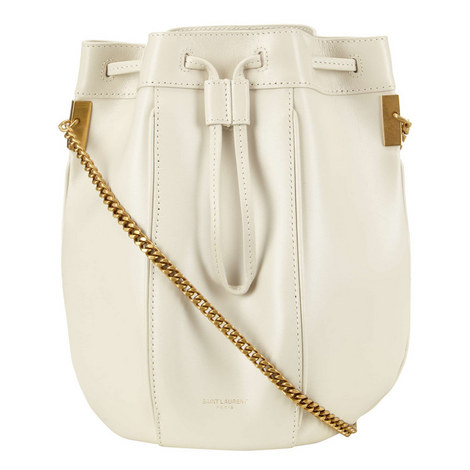 Talitha Small Chain Bucket Bag, ${color}