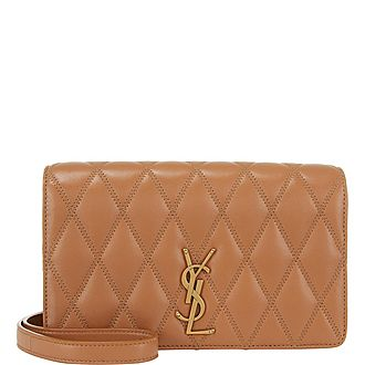 Angie Quilted Crossbody Bag