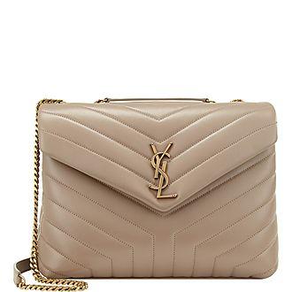 LouLou Chain Medium Shoulder Bag