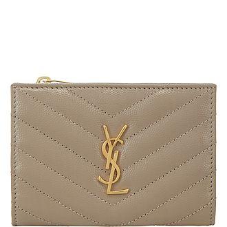Monogram Billfold Zip Wallet