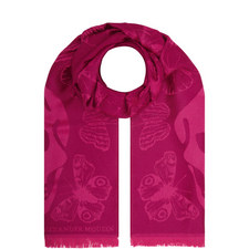 Jacquard Butterfly Scarf