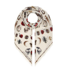 Jewelled Trinket Scarf