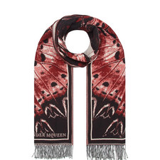Jaquard Butterfly Wing Scarf