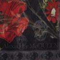 Field Poppy Skull Print Scarf, ${color}