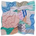 Foulard Silk Scarf, ${color}