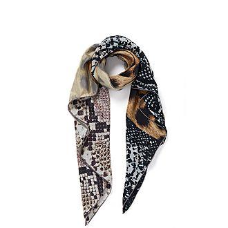 Safari Square Silk Scarf