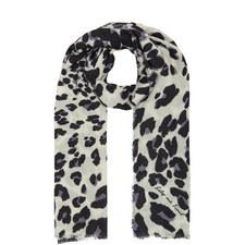 Leopard Print Pattern Scarf