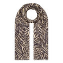 Zebra Print Scarf, ${color}