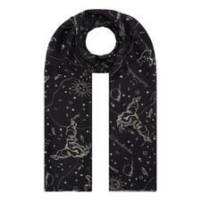 Astrology Silk Scarf