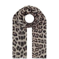 Safari Leopard Scarf