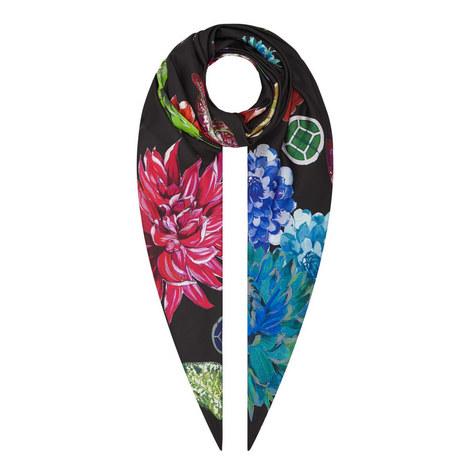 Floral Flatlay Scarf, ${color}