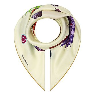 Botanical Jewel Square Scarf 70x70