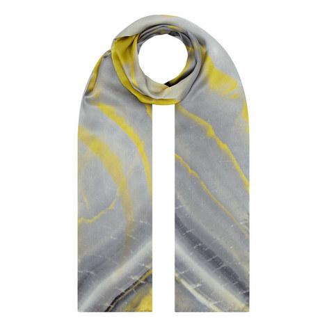 Iris Agate Silk Wrap Scarf, ${color}
