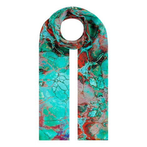 Viola Turquoise Scarf, ${color}