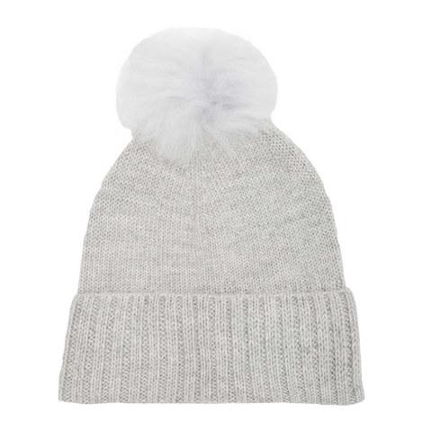 Alpaca Bobble Beanie Hat, ${color}