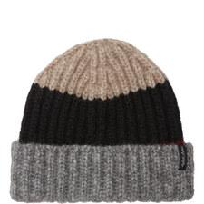 Colour Block Beanie Hat