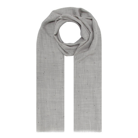 Silk Studded Scarf, ${color}