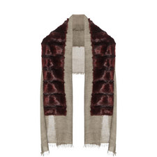 Faux Astrakhan Scarf