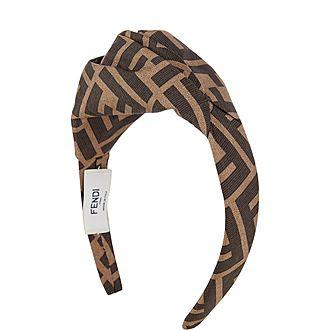 Logo Silk Headband