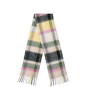 Aster Check Scarf