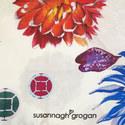 Silk Floral Scarf, ${color}