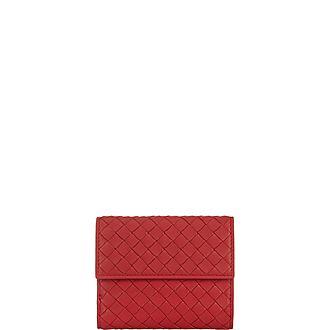 Intrecciato Wallet Mini
